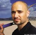 Andre Agassi - a famous tennis player