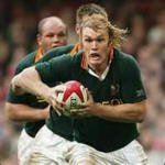 Schalk Burger of the South African Springbok rugby team